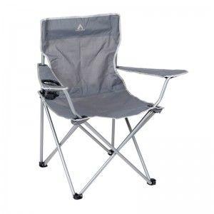 Camp Gear Stoel opvouwbaar grijs