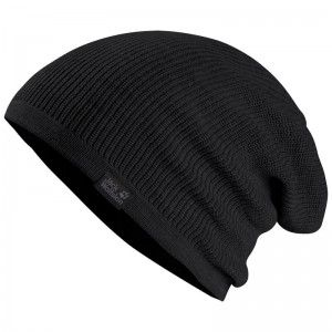 Jack Wolfskin FEEL GOOD BEANIE (55-59CM) ♂/♀ 'Black'