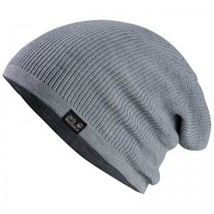 Jack Wolfskin FEEL GOOD BEANIE (55-59CM) ♂/♀ 'Grey Heather'