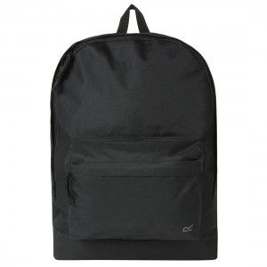20L School Bag Black Rugzak