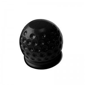 Trekhaakdop Golfbal zwart in blister