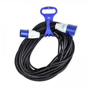 Kabelbinder met handgreep voor CEE verlengkabel