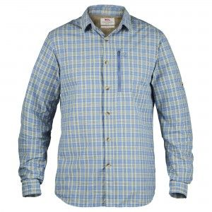 Abisko Hike Shirt LS Blue Ridge
