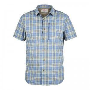 Fjällräven Abisko Hike Shirt SS Blue Ridge