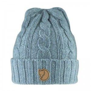 Fjällräven Braided Knit Hat OneSize Frost Green