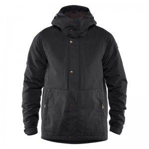 Övik Stretch Padded Jacket M Black