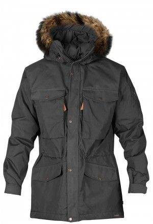 Fjällräven  Singi Winter Jacket  ♂ Dark Grey F81390