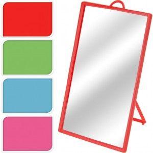 Spiegel Glas 17x12cm 4 ASSORTI