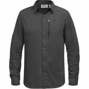 Abisko Hike Shirt LS - 030 - Dark Grey