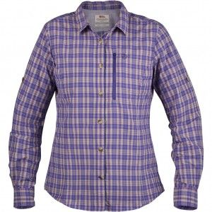 Abisko Hike Shirt LS W - 580 Purple