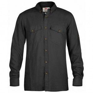Abisko Vent Shirt LS - 030 Dark Grey