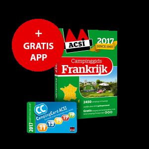 ACSI Campinggids Frankrijk + app 2017