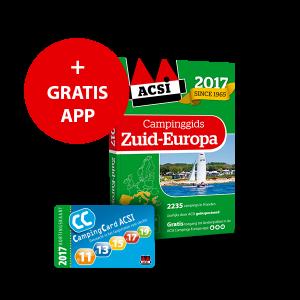 ACSI Campinggids Zuid-Europa + app 2017