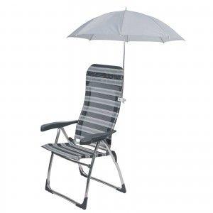 Bo-Camp stoelparasol grijs