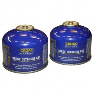 CADAC Gascartouche 125 g (2 stuks)