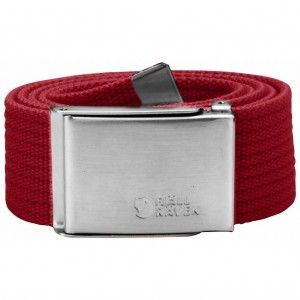 Canvas Belt - 325 - Deep Red