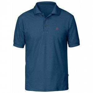 Crowley Pique Shirt - 520 - Uncle Blue