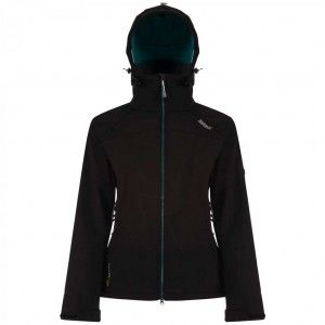 Desoto II Softshell Jacket - Black Deep Lake