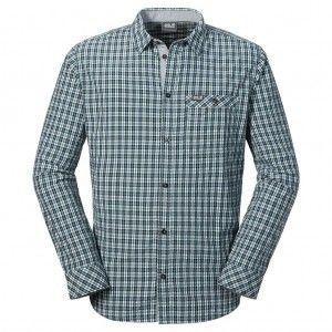 Dixon Shirt Men - Blue Granite Checks