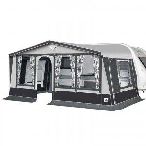 Dorema Ibiza 240 Voortent - Antraciet/Grijs
