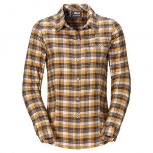 Edmont Shirt W - Dark Steel Checks