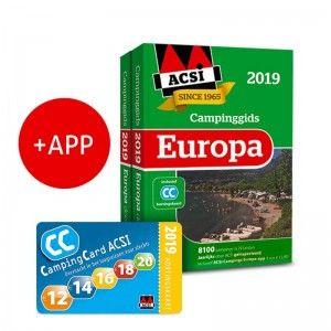 ACSI Campinggids Europa incl APP