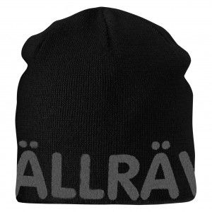 Fjallraven Are Beanie 550-020 - Black/Grey