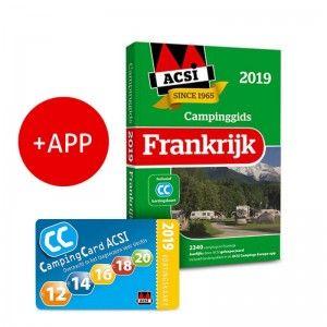 ACSI Campinggids Frankrijk incl APP 2019