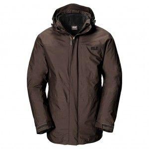Genesis Jacket Men - Mocca