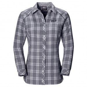 Harrison Shirt W - Night Blue Checks