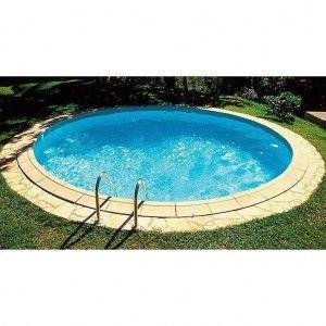 Inbouwzwembad Rond Platinum Pool 120 cm diep
