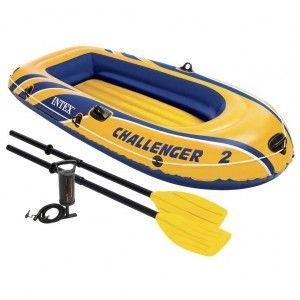 Intex Challenger 2 Set Tweepersoons Opblaasboot