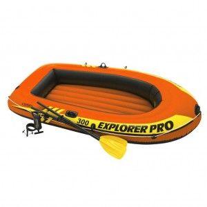 Intex Explorer Pro 300 Set Opblaasboot 3 Persoons