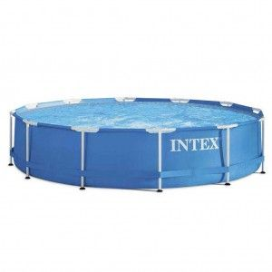 Intex Metal Frame Pool Ø 366 x 76 cm Zwembad