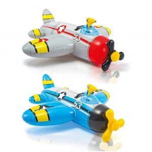 Intex Water Gun Plane Ride-On Opblaasbaar Vliegtuig