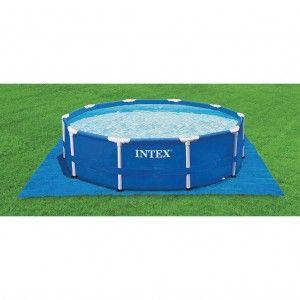 Intex grondzeil 472 x 472 cm 28048