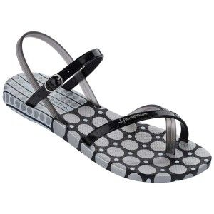 Ipanema Fashion Sandal Black/Silver