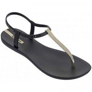 Ipanema Charm Sandal Black/Gold