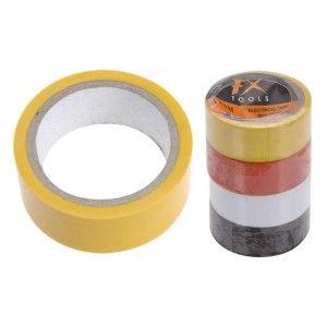 Isolatietape 19 mm 4 Rollen Diverse Kleuren 5735060