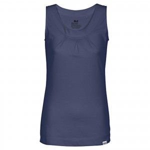 Jack Wolfskin TANK TOP WOMEN - Blue Indigo #1804571-1096