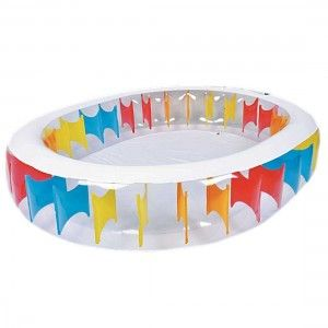 Jilong Oval Rainbow Pool - 250 x 208cm