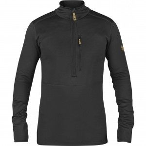 Fjallraven Keb Fleece Half Zip Heren - Dark Grey