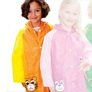 Kinderregenjas Leeuw