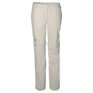 Marrakech Zip Off Pants Women - White Sand