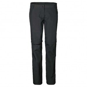 Marrakech Zip Off Pants Women - Dark Steel