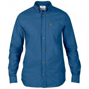 Övik Oxford Shirt LS - 520 Uncle Blue