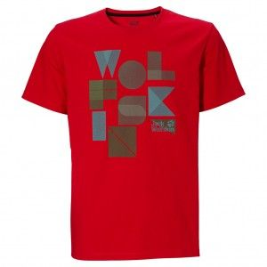 Palmerston OC T-Shirt - red fire
