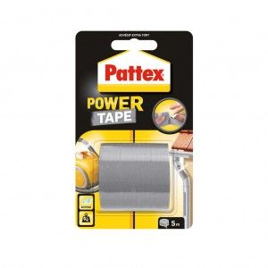 Pattex Power Tape Grijs Rol 5 meter
