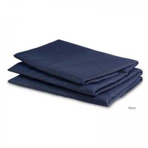 Tenttapijt in tas PVC 2,5 x 3 m Blauw