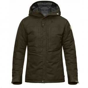 Skogsö Padded Jacket - 633 Dark Olive